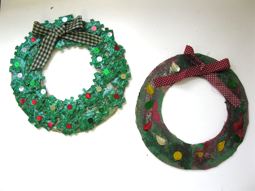 Homemade Christmas Wreath Decorations Live Learn Love