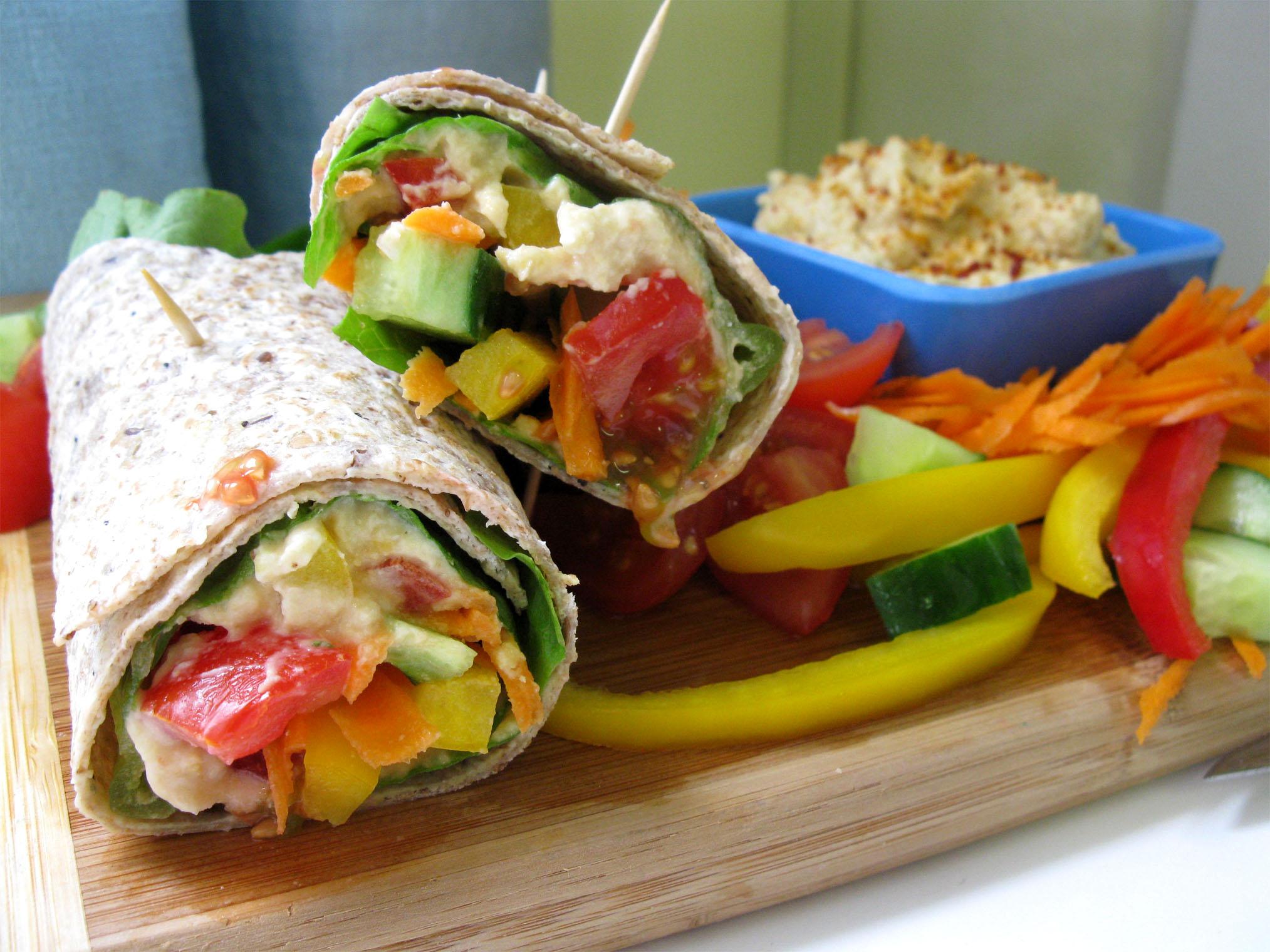 ... and bacon garden vegetable wraps recipe ham cheese garden vegetable
