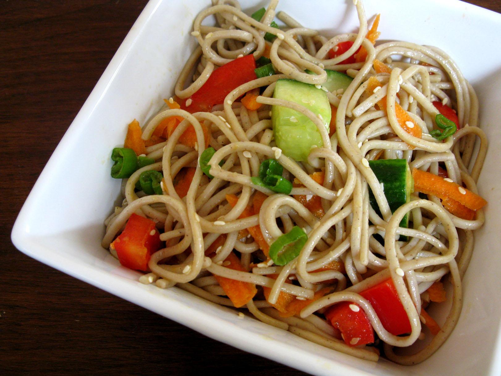 Image Gallery noodle salad