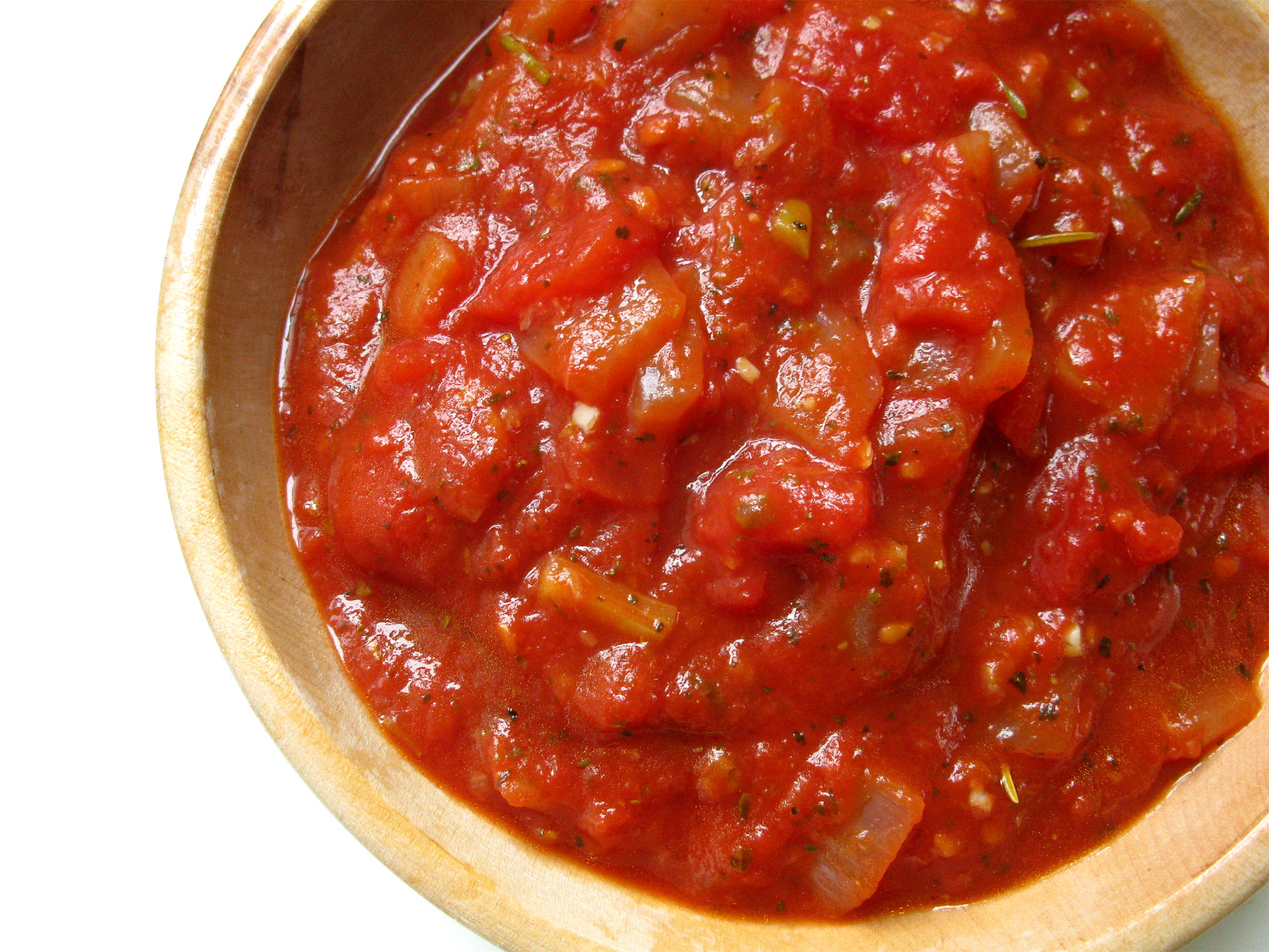 this sauce, you will never go back to canned or jarred pasta sauce ...