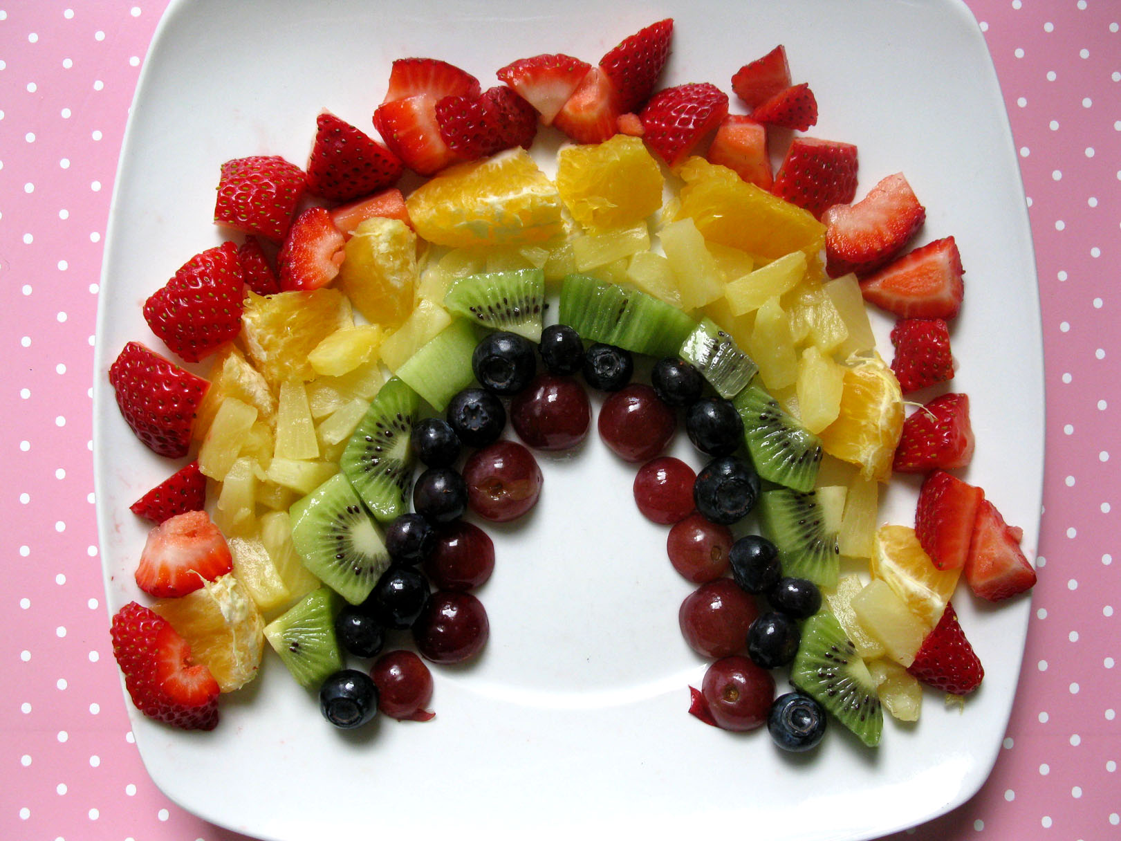 Vegetable Rainbow Craft And Fruit