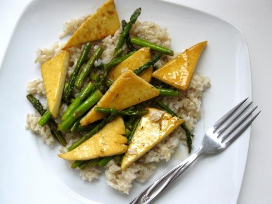 chongga tofu fry how to eat