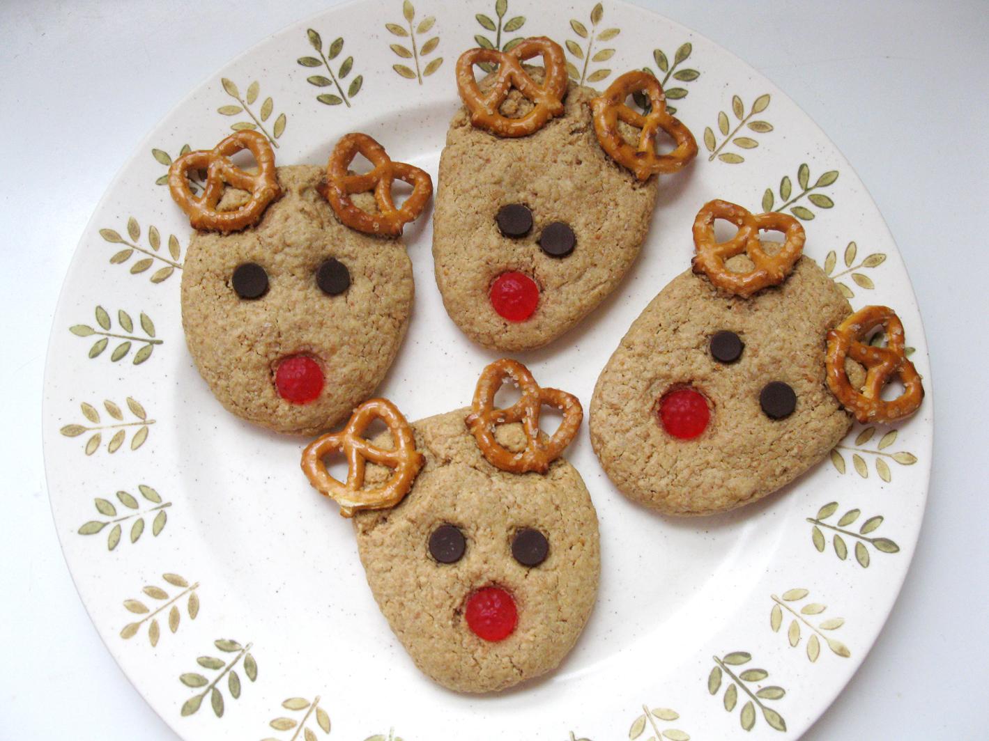 Christmas Reindeer Cookies Xmasblor