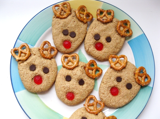 Rudolph Reindeer Cookies Live Learn Love Eat