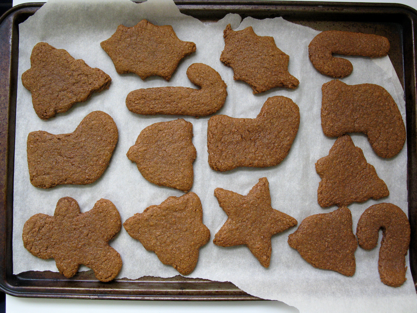 Spelt Gingerbread Cut Out Cookies Live Learn Love Eat