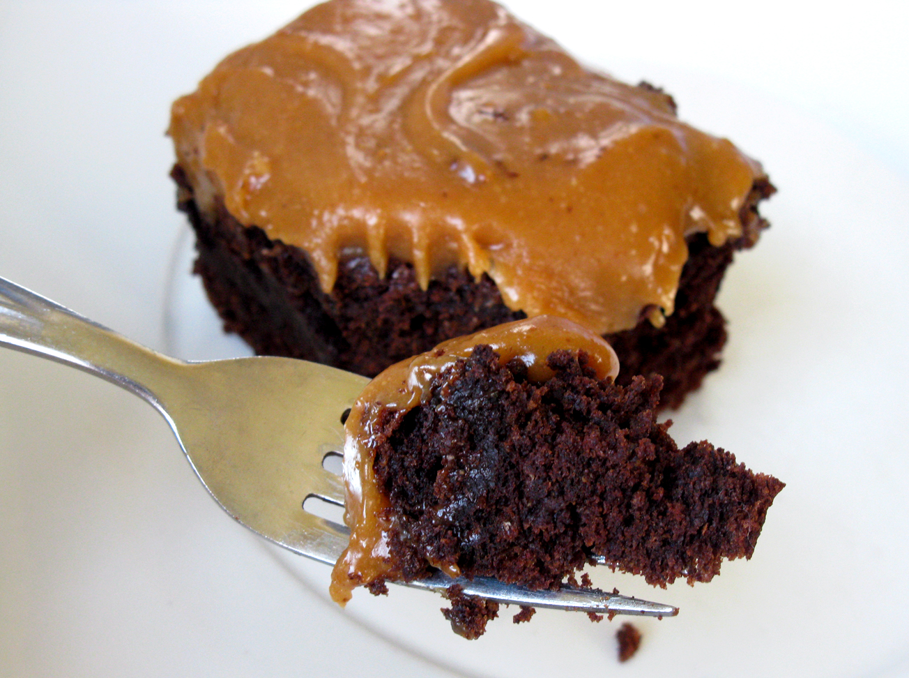 Chocolate Banana Cake with Peanut Butter Icing | Live. Learn. Love ...
