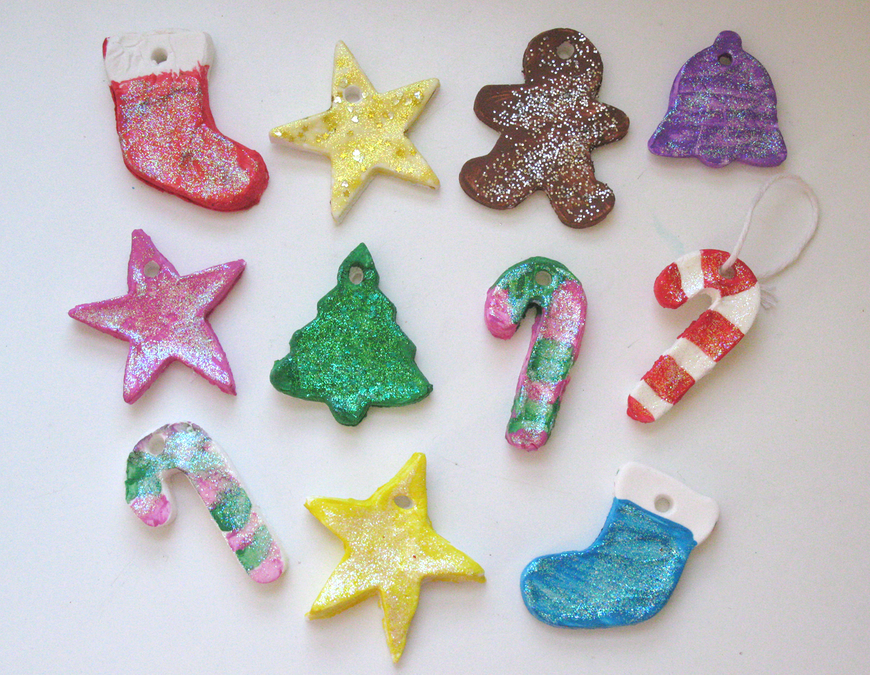 Easy handmade christmas tree ornaments live learn love - Como realizar adornos navidenos ...