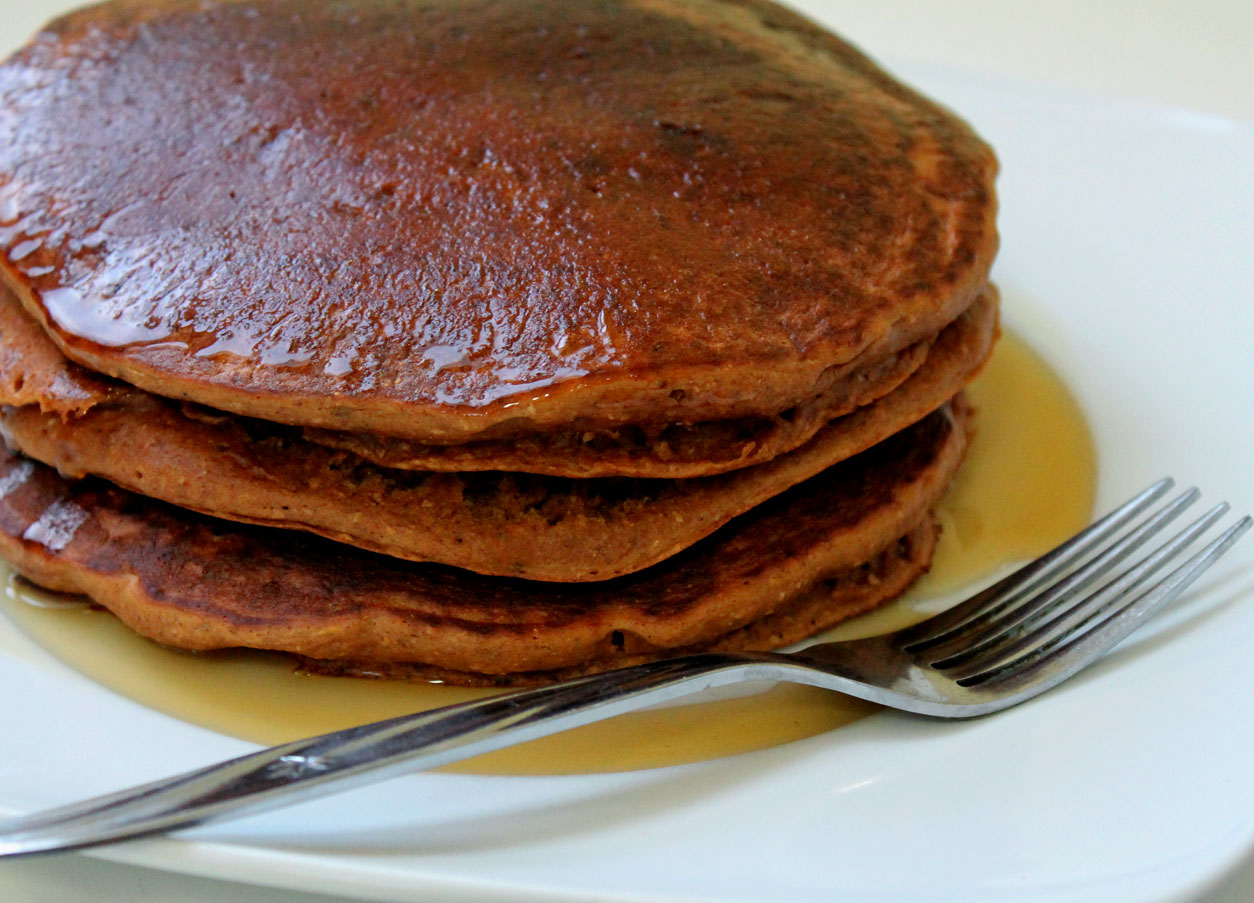 Gingerbread Pancakes | Live. Learn. Love. Eat.