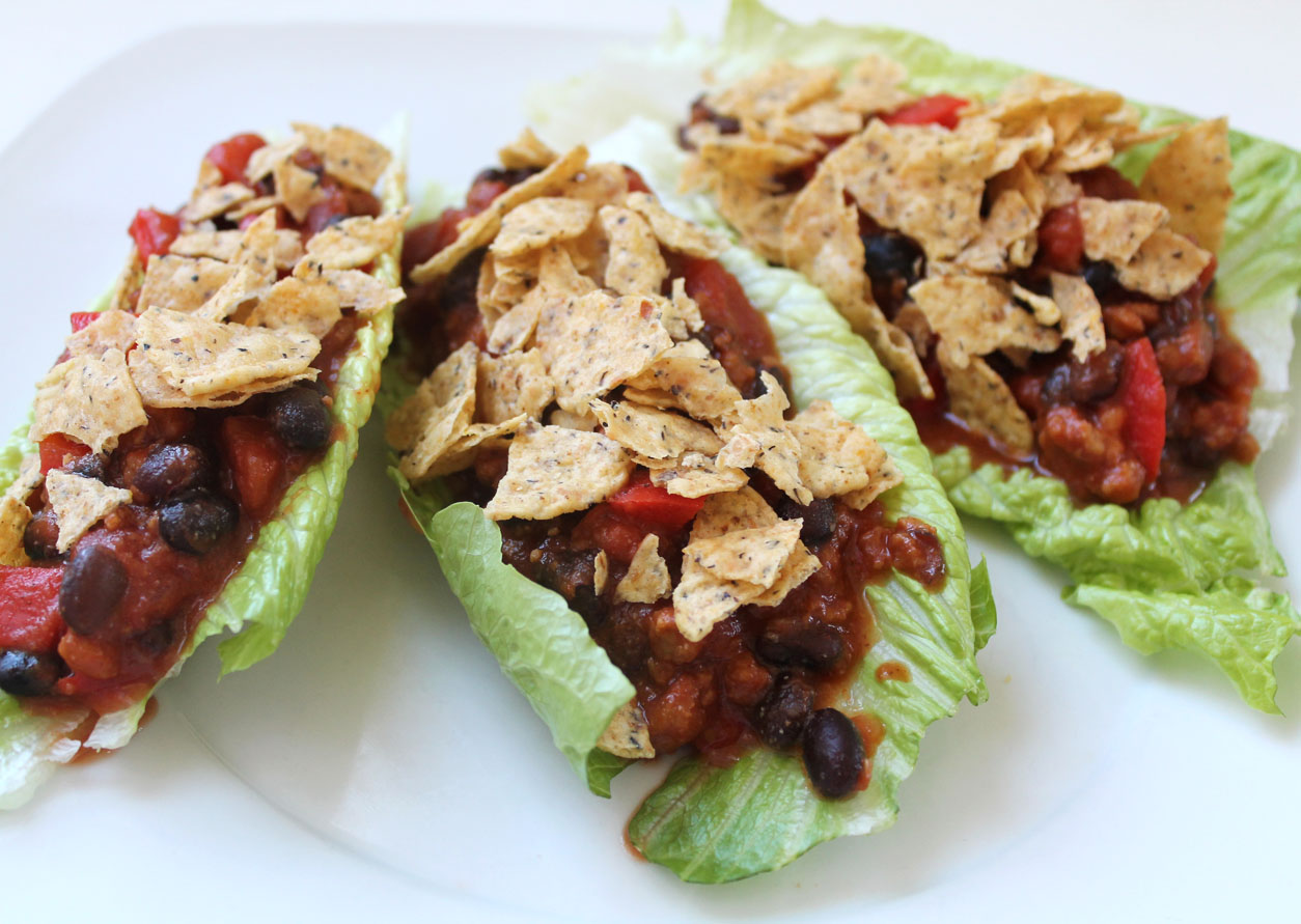Taco Salad Lettuce Wraps | Live. Learn. Love. Eat.