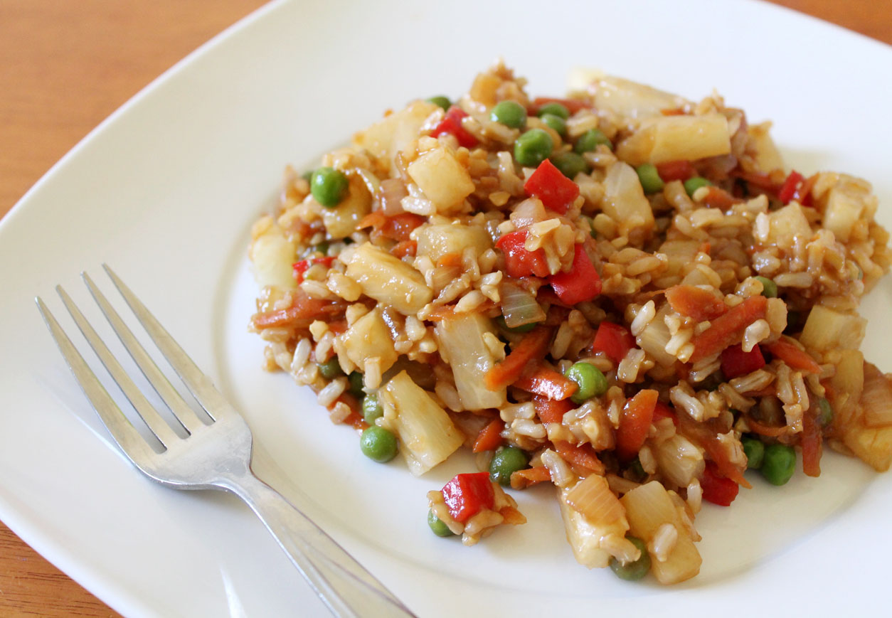 Pineapple Ginger Fried Rice | Live. Learn. Love. Eat.