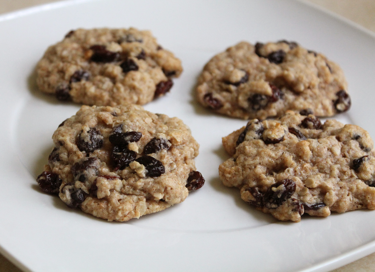 oatmeal raisin cookies brown rice syrup | Live. Learn ...
