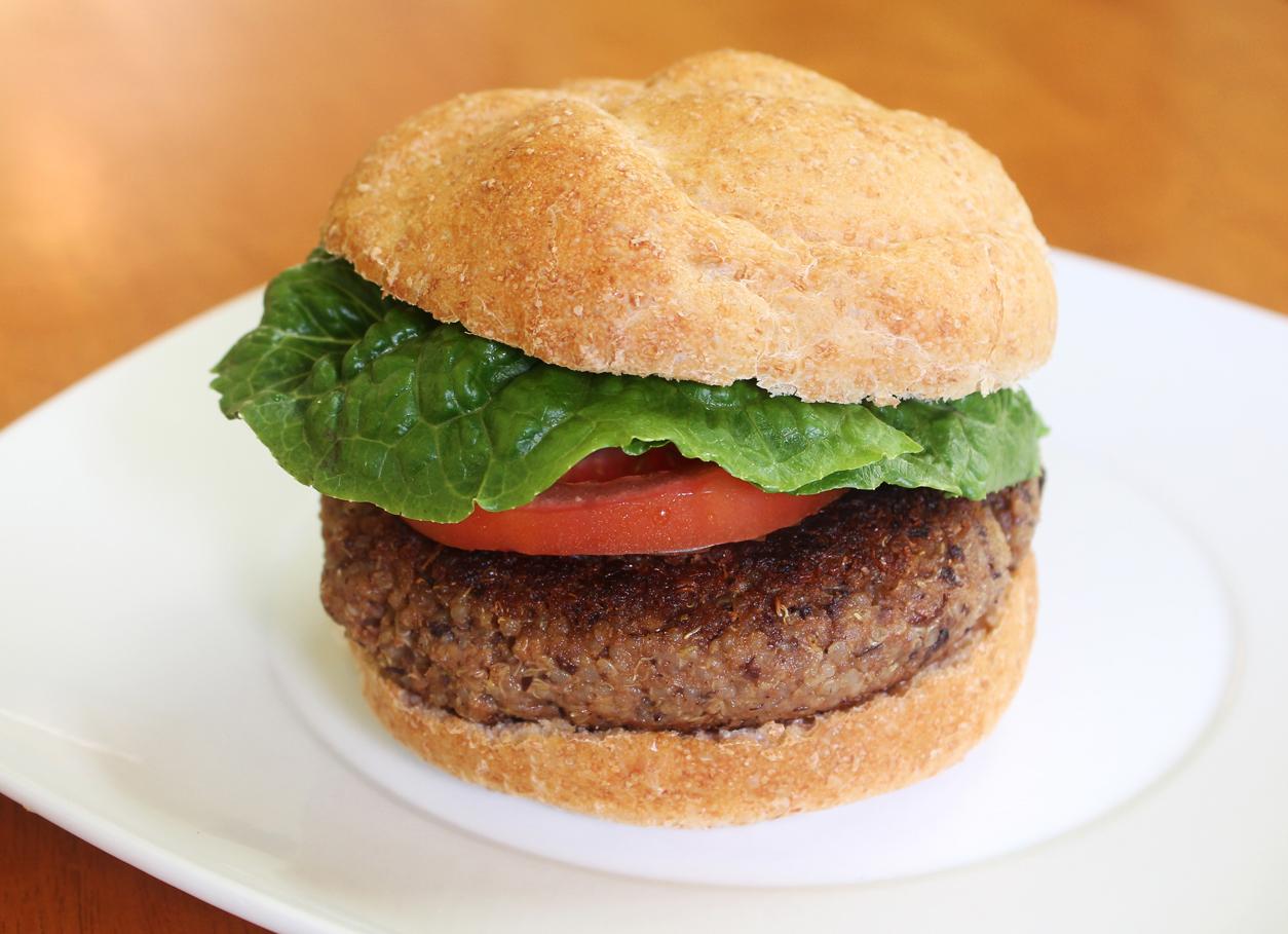 Smoky Hickory Quinoa and Black Bean Burgers Take 2 | Live ...