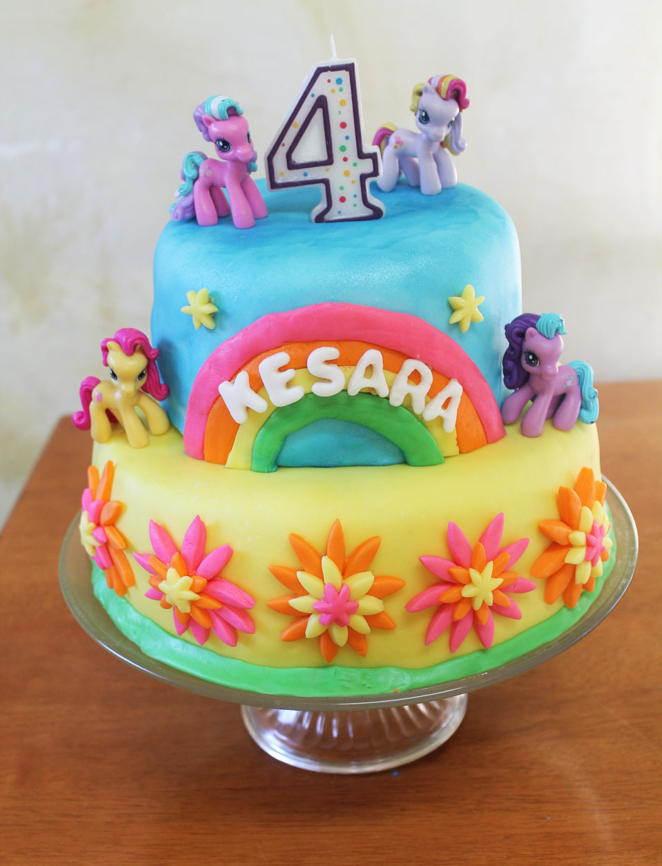 My Little Pony Fondant Cake Live Learn Love Eat