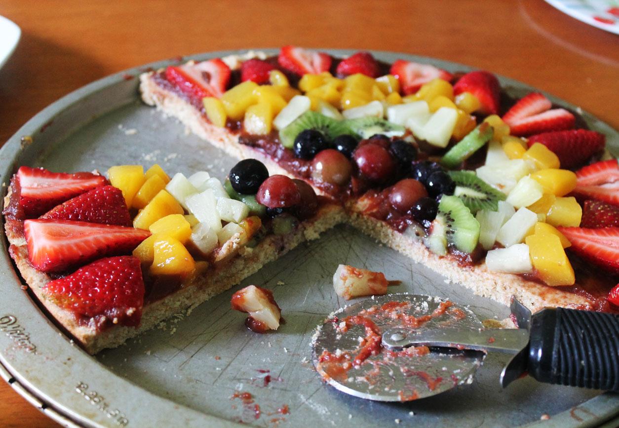Rainbow Fruit Pizza Live Learn Love Eat