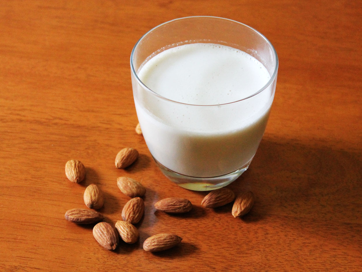 ... milk i have been really wanting to start making my own almond milk we
