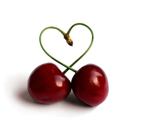 cherries love heart wallpapers