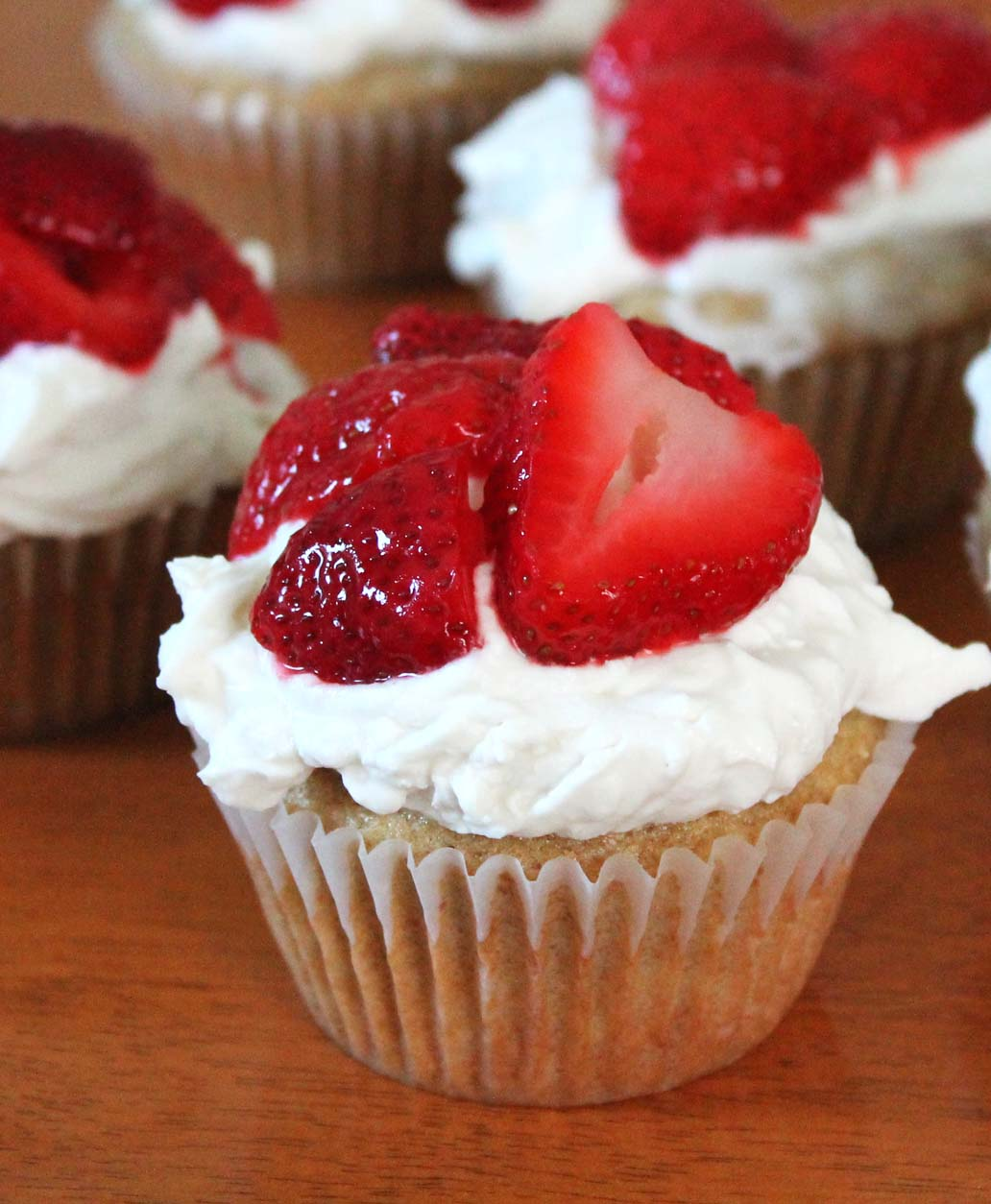 Strawberry Shortcake Cupcakes | Live. Learn. Love. Eat.