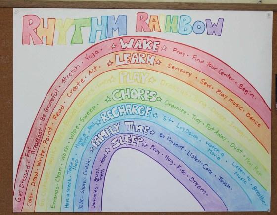 rhythm rainbow