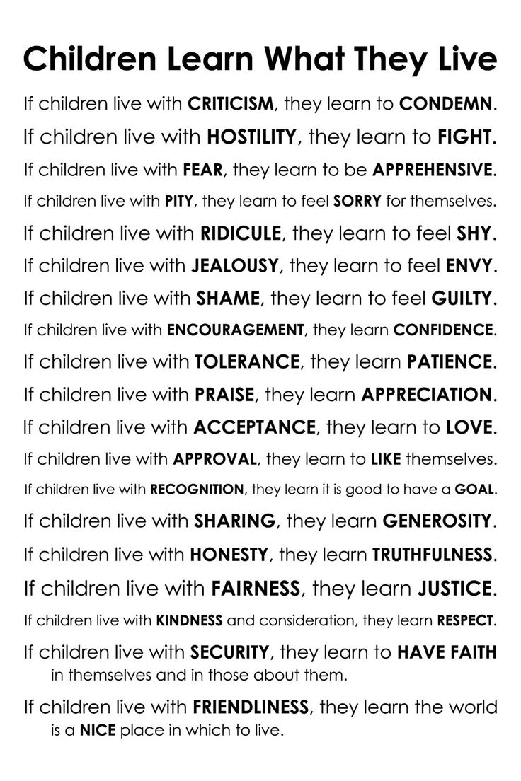 How Children Learn Disrespect From Their Parents