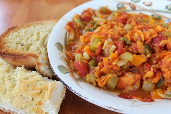 no bean veggie chili