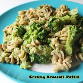creamy broccoli rotini