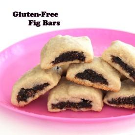 gluten free fig bars