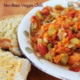 no bean veggie chili
