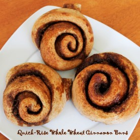 Quick-Rise Cinnamon Rolls